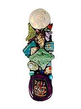Treasure Trove by Cathy Gerson (Ceramic Wall Sculpture)