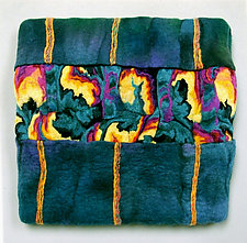 Colorplay IX by Sharron Parker (Fiber Wall Hanging)