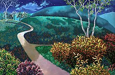 Around the Bend by Wynn Yarrow (Giclee Print)