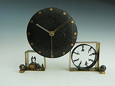 Swing Shift by Mary Ann Owen and Malcolm  Owen (Metal Clock)