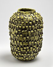 Vessel in Yellow by Boyan Moskov (Ceramic Vessel)