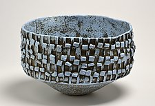 Bowl in Blue by Boyan Moskov (Ceramic Bowl)