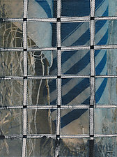 Tallis and Fence #3 by Jeanne Williamson  (Mixed-Media Wall Art)