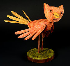 CatBird by Bruce Chapin (Wood Sculpture)