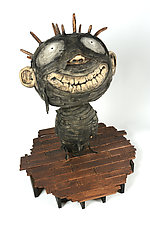 MummyBoy by Bruce Chapin (Wood Sculpture)
