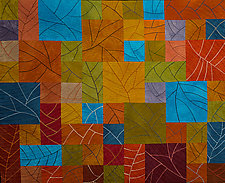 Deciduous by Janet Steadman (Fiber Wall Art)