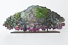 Dreamscape 50 by Mira Woodworth (Art Glass Sculpture)