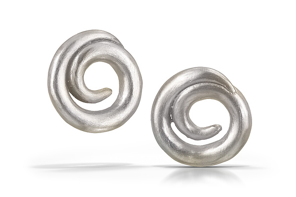 Large Swirl Earrings
