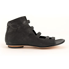 Caracal Sandal Black by CYDWOQ  (Leather Sandal)