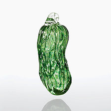 Pickled by Juston Daniels (Art Glass Ornament)