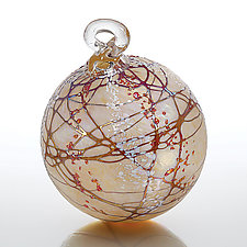 Christmas Blossom by Bryce Dimitruk (Art Glass Ornament)
