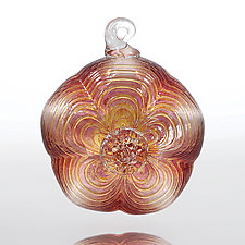 Sugar Magnolia by Julian Duerksen (Art Glass Ornament)