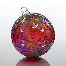 Mulled Wine by Art of Fire (Art Glass Ornament)