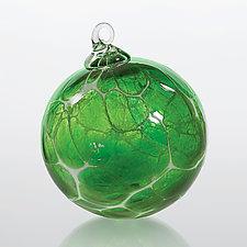 Emerald Isle by Michael Richardson, Justin Tarducci and Tim Underwood (Art Glass Ornament)