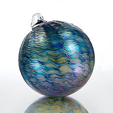 Moonlight Sonata by David Lindsay (Art Glass Ornament)