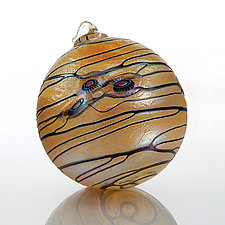 Taliesin by David Lindsay (Art Glass Ornament)