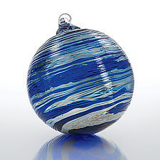 Quicksilver by Paul Lockwood (Art Glass Ornament)