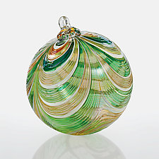 Belle of the Ball by Paul Lockwood (Art Glass Ornament)