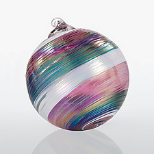 Nordic Nights by Katerina Lockwood (Art Glass Ornament)