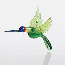 Humming Along by Kevin McKay, Maki Kawakubo and Kirsten Loewen (Art Glass Ornament)