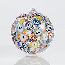 Going Places by Ralph Mossman and Mary Mullaney (Art Glass Ornament)