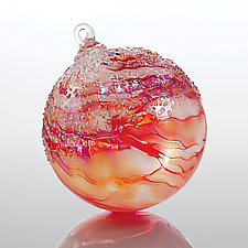 Christmastide by Tom Stoenner (Art Glass Ornament)
