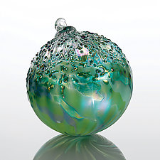 Emerald City by Tom Stoenner (Art Glass Ornament)