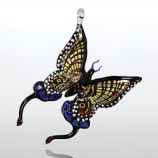 Swallowtail by Milon Townsend (Art Glass Ornament)