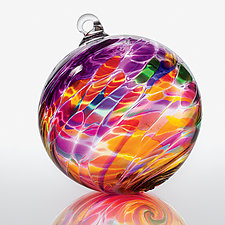 Magical Mystery by Michael Trimpol and Monique LaJeunesse (Art Glass Ornament)
