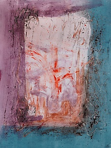 Open Door by Sandra Humphries (Monotype Print)