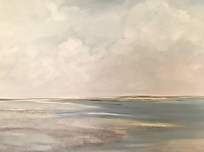 Marsh Inlet by Karen Crocker (Oil Painting)