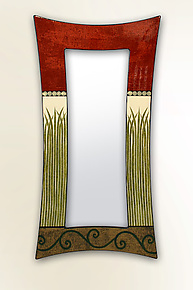 Swag Bella Bella Mirror by Lara Moore (Mixed-Media Mirror)