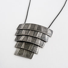 Tidal Pendant by Jane Pellicciotto (Silver Necklace)
