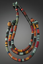 Luxor Necklace by Julie Powell (Beaded Necklace)