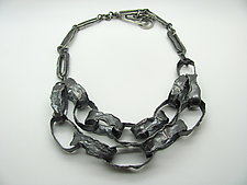 Volcanic Chain Necklace by Lauren Passenti (Silver Necklace)