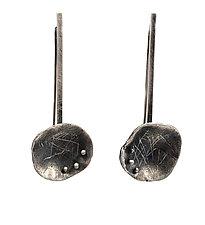 Confluence Drop Earrings by Linda Azar (Gold & Silver Earrings)