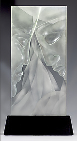 Converge by Susan Bloch (Art Glass Sculpture)