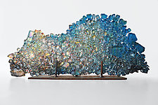 Dreamscape 53 by Mira Woodworth (Art Glass Sculpture)