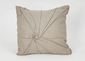 Starburst Pillow in Natural by Carol Gilbert (Linen Pillow)