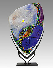 Star Portal by Karen Ehart (Art Glass Sculpture)