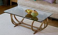 Stretch XO Table by Derek Hennigar (Wood Coffee Table)