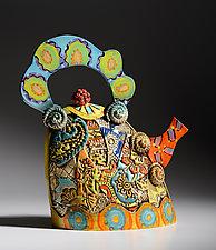 Extra Large Teapot by Gail Markiewicz (Ceramic Teapot)