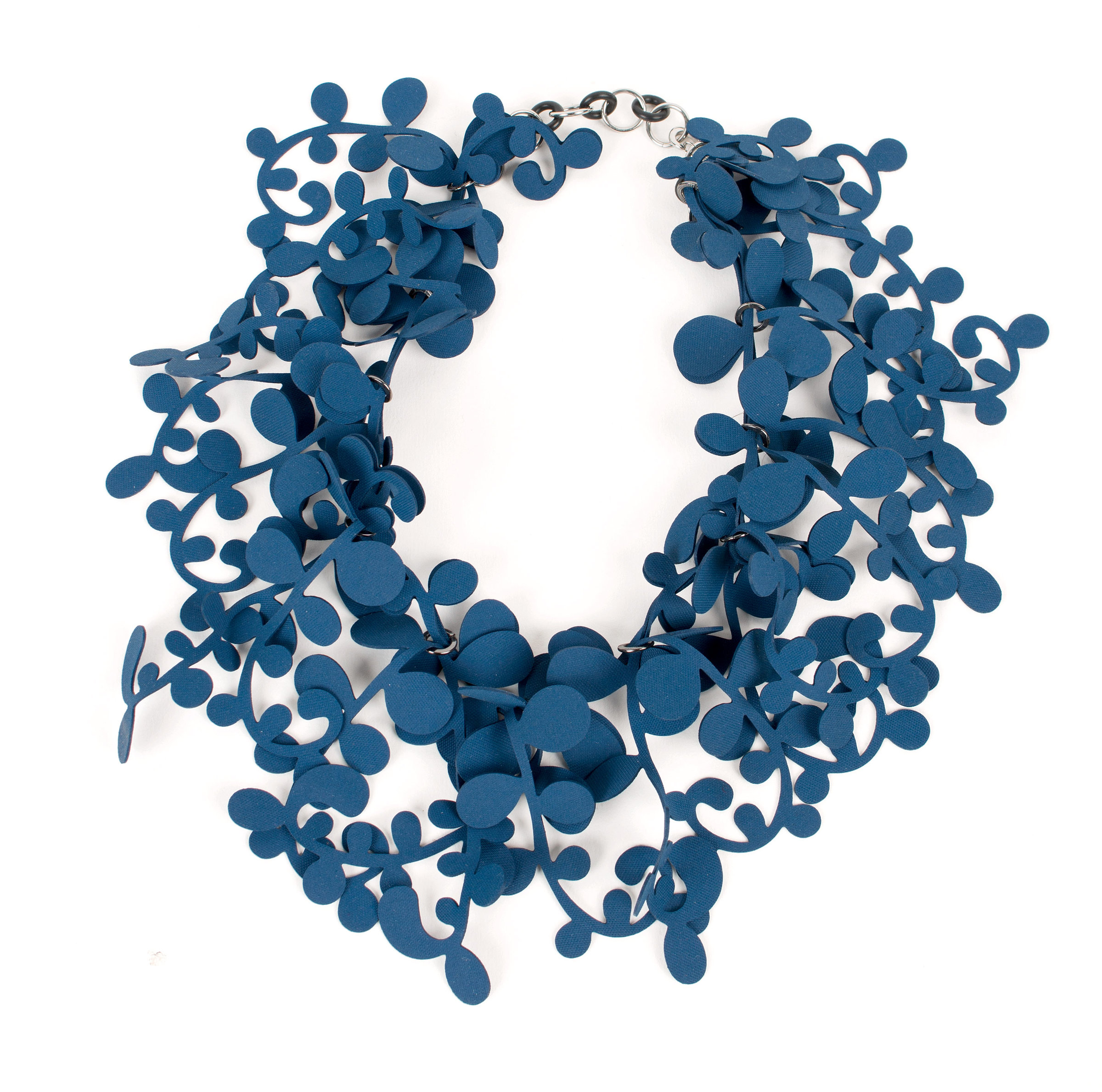Artful Home Marie Necklace By Kathleen Nowak Tucci Rubber Necklace Artful Home