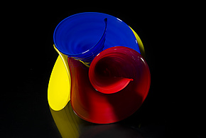 Primary by April Wagner (Art Glass Sculpture)