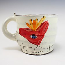 I Love You Mug by Noelle VanHendrick and Eric Hendrick (Ceramic Mug)