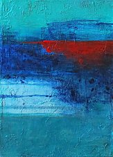 Between the Lines 2 by Katherine Greene (Acrylic Painting)