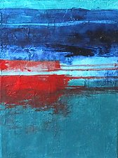 Between the Lines 1 by Katherine Greene (Acrylic Painting)