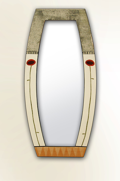 Bella Bella Boat-Shaped Full Length Mirror