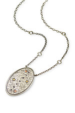 Energy Points Necklace by Susie Aoki (Silver Necklace)
