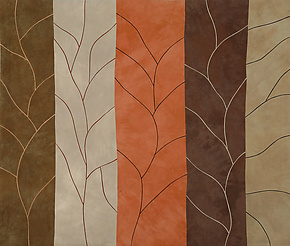 Leafless by Janet Steadman (Fiber Wall Art)